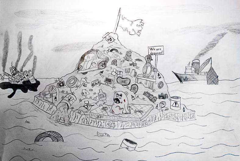 El iceberg futurista